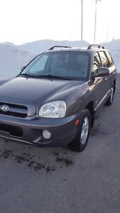 Hyundai santa fe 2006 toute équipée