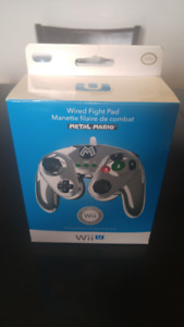 Wii U Wired Fight Pads and 3DS games for sale.