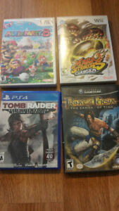 Pre-owned Wii, PS4, Gamecube Games