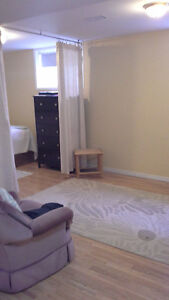 Furnished basement BACHELOR'S, available immediate, near RVH