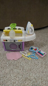 Washing Machine Toy With Accessories