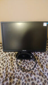 "Philips 22"" Computer Monitor"