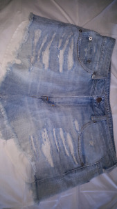 Worn Once American Eagle Jean Shorts