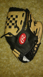 Rawling Blue Jays Vernon Wells Promotional Autographed Glove