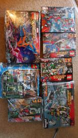 Marvel lego builds