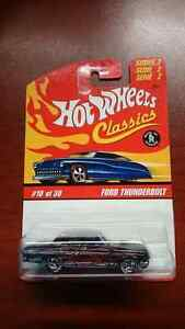 HOT WHEELS CLASSICS SERIES 2 FORD THUNDERBOLT #10/30
