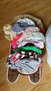 Baby girl clothing nb - 3-6