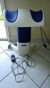 Back to life machine for help with back pain
