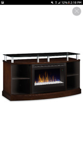 Looking for tv stand/fireplace