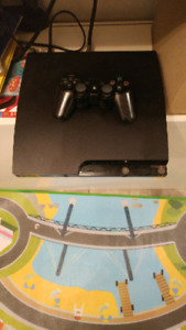 Ps3 slim with 1 controller and all cables. All working great..