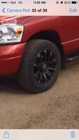 Looking to trade my 20 inch rims for 17 or 18 inch!