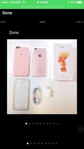 Rose Gold Iphone 6S - 64 GB Rogers