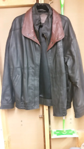 Brand new 10th anniversary Trican Well Service leather jacket