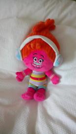 "Dreamworks Trolls DJ Suki Soft Toy Plush 16"""
