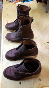 2 pair Red Wing Heritage Men's Boots