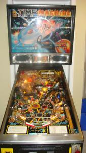 Time Machine pinball machine Data East 1988 $2500