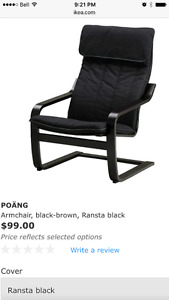 IKEA Poang chairs, new in box, never assembled.