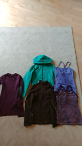 Lululemon tops, tanks, sweater, size 2