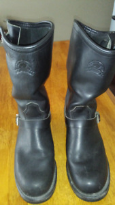 40231b41ee Men s Canada West Engineer Biker Boots Size 9
