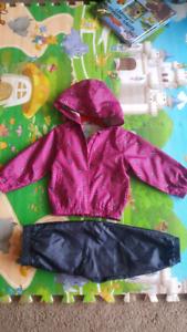 jacket and pants brand Westcoast kids size 12-18 months
