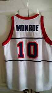 Basketball Jersey - Earl Monroe Winston-Salem State Kitchener / Waterloo Kitchener Area image 1