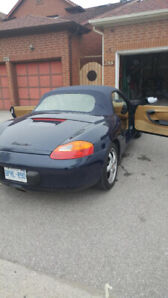 Boxster - 96K ,Original Owner, Auto, certified,  looks new!
