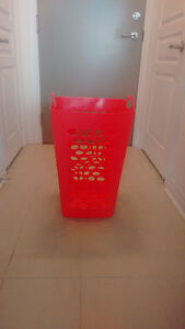 BRAND NEW & AFFORDABLE - Orange storage basket!