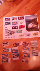 Timbres des iles Pitcairn
