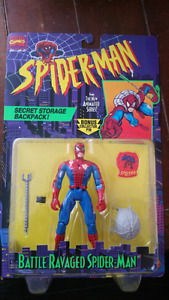 Battle Ravaged Spider-Man  action figure