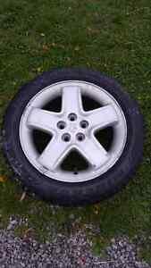 Dodge 16 Inch Rim W/Winter Tire
