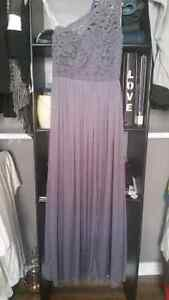 Bridesmaid dresses size 0 and a size 2