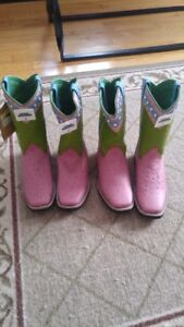 cowgirl boots (2 pair)