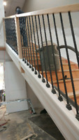 Stairs , hand rails and basic renovations