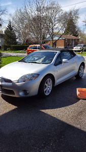 2007 Mitsubishi Eclipse Spyder Convertible GT-P Convertible Mode