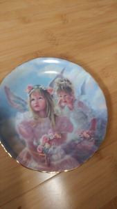 "Collectors plate ""sharing secrets"""