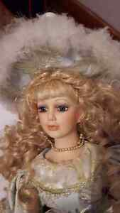 Porcelain doll with stand Windsor Region Ontario image 6