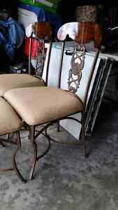 Cast iron/wood chairs French Parisienne style  Kitchener / Waterloo Kitchener Area image 6