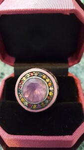 Gorgeous Matthew Campbell Laurenza Amethyst and Sapphire Ring