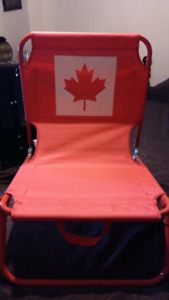 Brand new Canada Day Beach chair