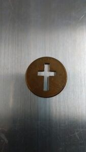 US Penny with Cross Cutout Kitchener / Waterloo Kitchener Area image 2