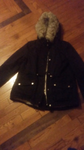 Lady's small h&m divided winter jacket