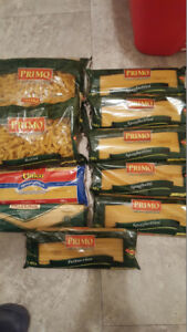 PASTA 10 BAGS (NEW & UNOPENED)