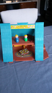 Vintage Fisher Price A Frame House