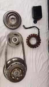 Harley twin cam complete charging and clutch