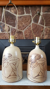 Naked Lady Lamps