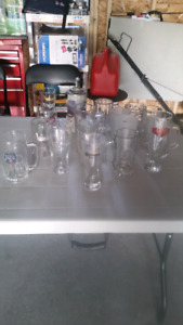 18 beer glasses