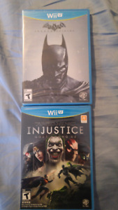 SEALED BATMAN GAMES FOR WII U