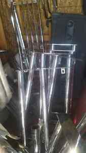 $ 60..TONS OF BRAND NEW CHROME. .PUSHBARS AND RUNNING BOARDS