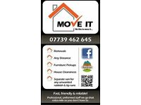 MAN & VAN,PLYMOUTH, REMOVALS,HOUSE CLEARANCES PRICES START FROM JUST £20