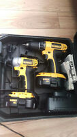18v Dewalt Drill and Impact set
